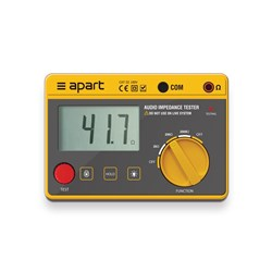 Impedance meter IMPMET digital display, carry bag 20/200/2000 ohm ranges