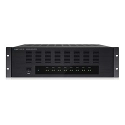 Power amp, 16 channel, 3RU 16 x 80W/4ohm, bridgeable convection cooled ,REVAMP1680