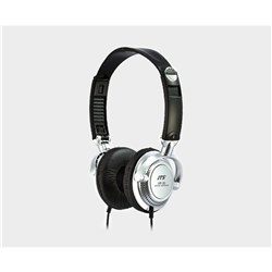 DJ/Monitoring headphone silver 38mm driver on ear