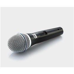 Dynamic vocal mic with switch for vocals includes XLR cable