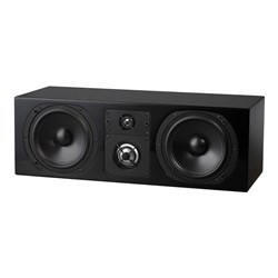 NHT C-Series LCR Speaker 3-Way Acoustic Suspension High Gloss Black Laquer
