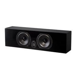 NHT Media Series Centre Spkr 2-Way Acoustic Suspension High Glass Black
