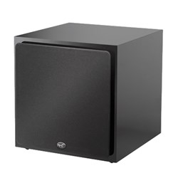 "NHT 10"" Active Subwoofer 250W Amp Acoustic Suspension High Gloss Black Laminate"