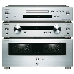 Pre-amp, Poweramp and CD Pack Onkyo Consisting of:-