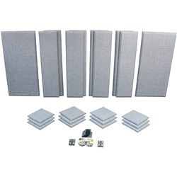 London 16 Roomkit Gray 38 panels Primacoustic