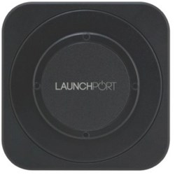 LaunchPort Wallstation Black iPort