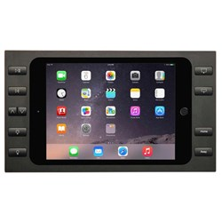 SM-MINI4 10 BUTTONS Black +Spl iPad mini 4 + Splitter Surface Mount iPort