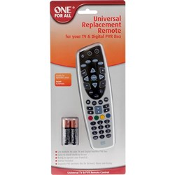 Replacement  FOXTEL IQ,IQ2 & 3 Also Operated TV & STB OneForAll