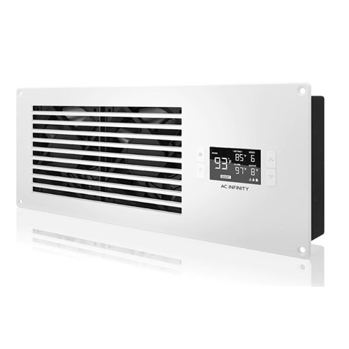 Airframe T7 White Exhaust + PP Smart In Cupboard Cooler AC Infinity