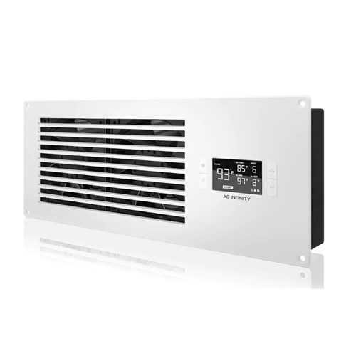 Airframe T7 White INTAKE +PP Smart In Cupboard Cooler AC Infinity
