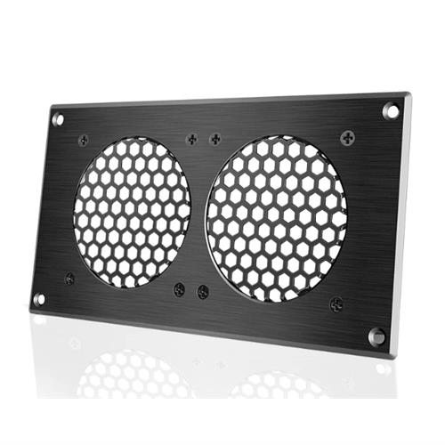 AIRPLATE 5 Black Grille 846 x 441mm AC Infinity