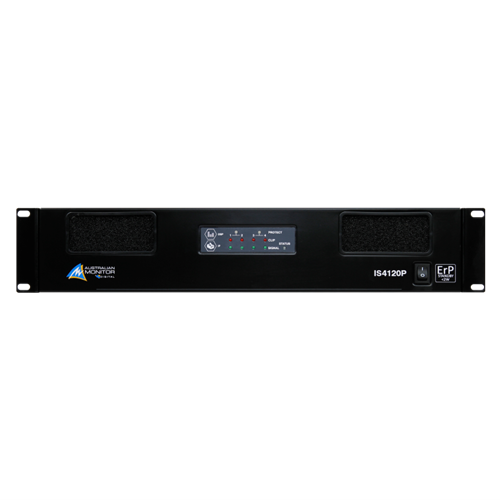 Is Series Dsp Pwr Amp 4 X 120W IS4120P Australian Monitor