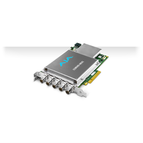 HEVC Encoder card - ATX6 Powered AJA