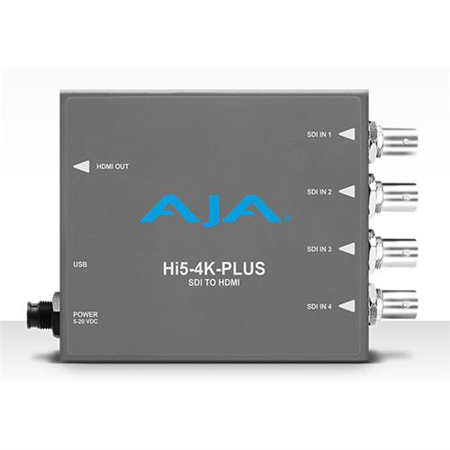4K/UltraHD 4 x 3G-SDI to 4K HDMI 2.0 with 60p support,also supports HD-SDI to HD-HDMI