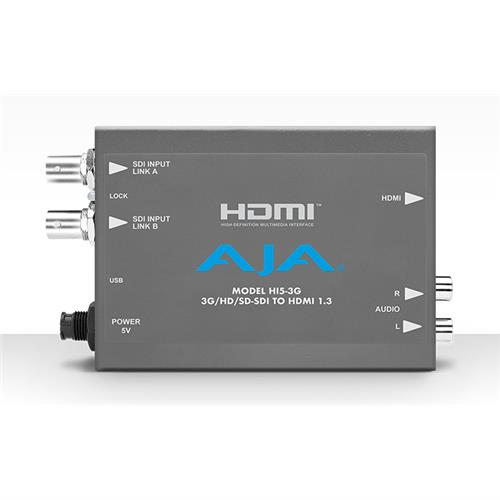3G-SDI to HDMI, includes 1 meter HDMI cable
