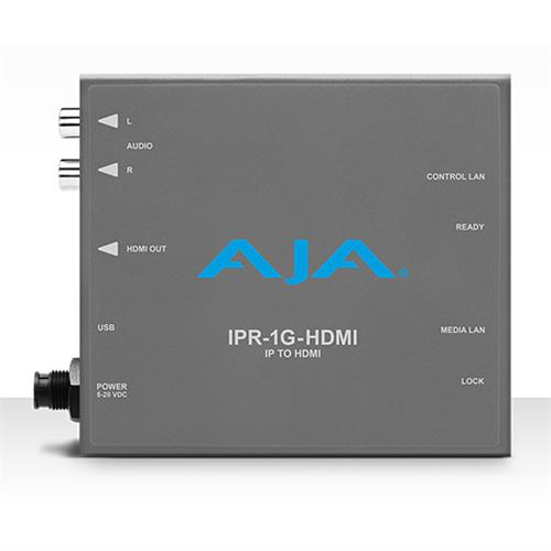 JPEG 2000 IP Video and Audio to HDMI Mini-Converter