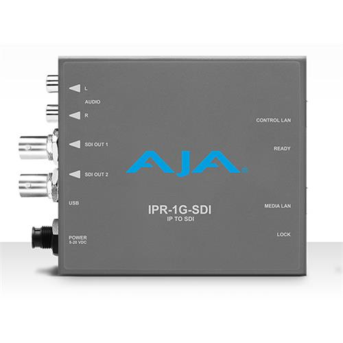 JPEG 2000 IP Video and Audio to 3G-SDI Mini-Converter