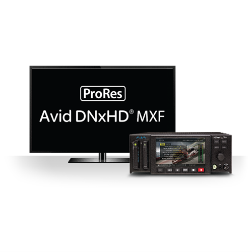 4K/UltraHD and 2K/HD Recorder/ Player with 4K 60p Support AJA