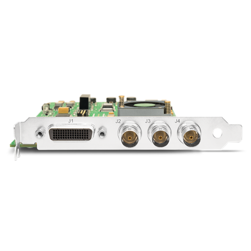HD/SD 10-bit Digital & 12-bit Analog PCIe Card (higher performance than LHe) AJA