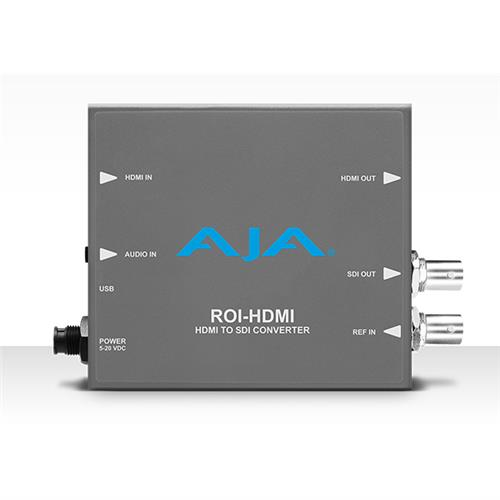 HDMI to SDI with Region of Interest scaling and HDMI loop through