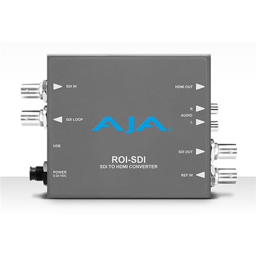 3G-SDI to 3G-SDI/HDMI converter with Region of Interest scaling