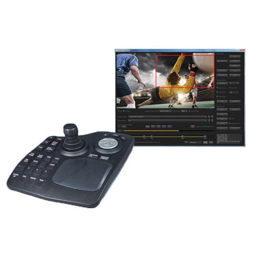 4K/UltraHD Region of Interest selection software. Includes TruZoom software, AJA