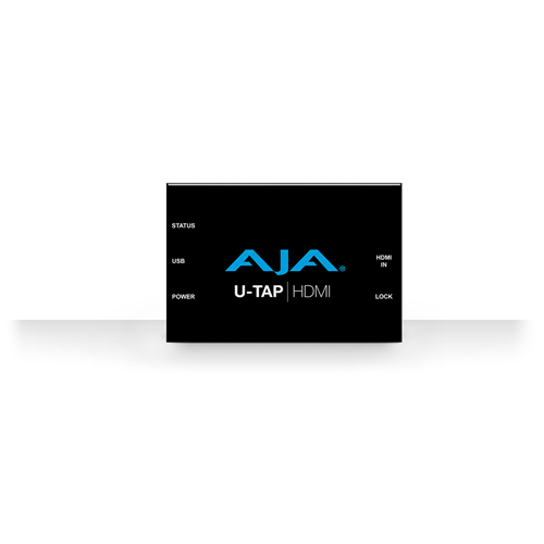 HD/SD USB 3.0 capture device for Mac/Windows/Linux wth HDMI input. Bus powered AJA