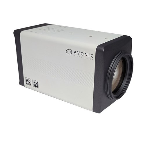 2K fixed box camera SDI and IP out, white Avonic