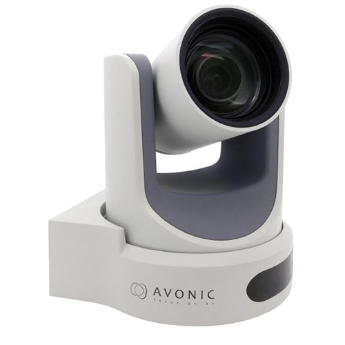 2K PTZ camera, 12x wide zoom SDI/HDMI/IP/CVBS out, white Avonic