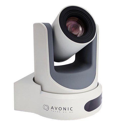 2K PTZ camera, 30x zoom SDI/HDMI/IP/CVBS out, white Avonic