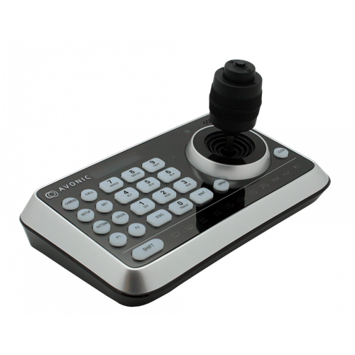 Simple Joystick Controller for PTZ cameras, RS232/485 AVONIC