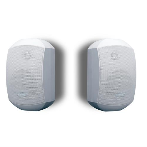 "4.25"" two-way speaker PAIR 8ohm/70W, white, inc bracket MASK4-WPR, see also MASK4C-WPR"