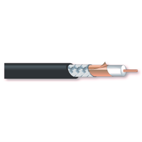 Coax cable 12G-SDI 5.5mm OD permanent install 100m roll