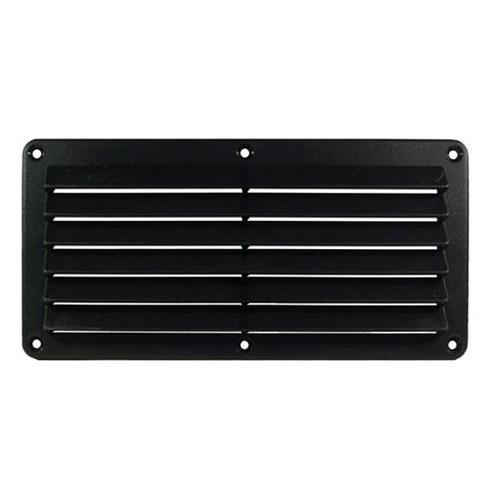 Rectangular Grille - Black 26 x 12.7 cm Cool Components