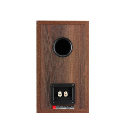 "Dali OBEORN 3 -WALNUT (1 BOX) 7"" Bookshelf Speaker Satin Baffle / Grained Vinyl"