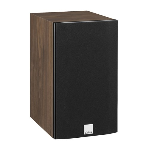 "Dali OPTICON 1 -WALNUT (1 BOX) 4¾"" Bookshelf Speaker Gloss Baffle / Matt Cabinet"
