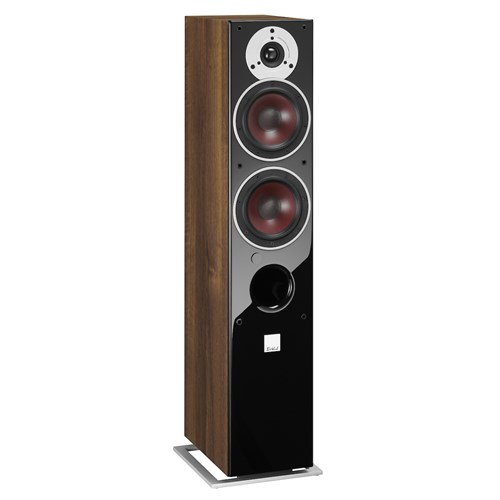 "Dali ZENSOR 5AX - WALNUT (Set) 5¼"" Active Floorstanding Grained Vinyl"