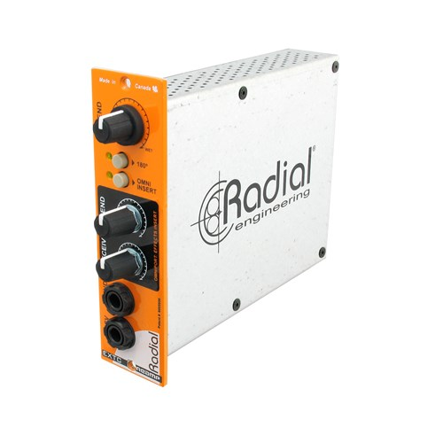 Radial EXTC 500 - Effects loop interface connects guitar pedals to the recording system