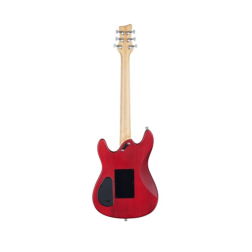Framus D-Series Diablo Pro Burgundy Red Transparent Satin