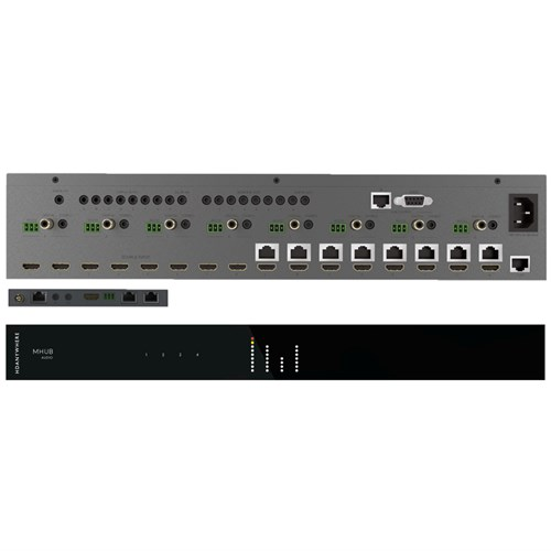 Bundle: MHUBPRO8870 + 2 x MHUBAUDIO HDANYWHERE