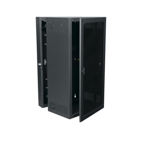 Wall mounted 26 RU rack 26 inch deep with Plexi door Mid Atlantic