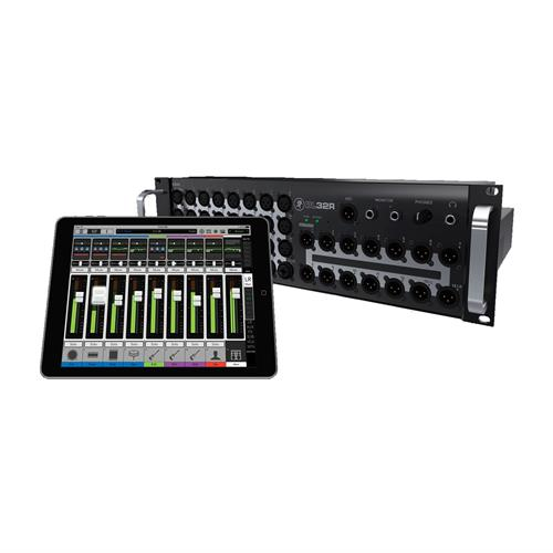 32-channel Wireless Digital Live Sound Mixer w/ iPad Control