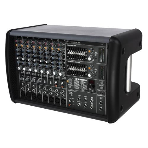 8-channel Powered Mixer with Effects (1600W)