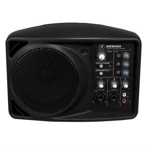 "5.25"" Compact Powered PA System"