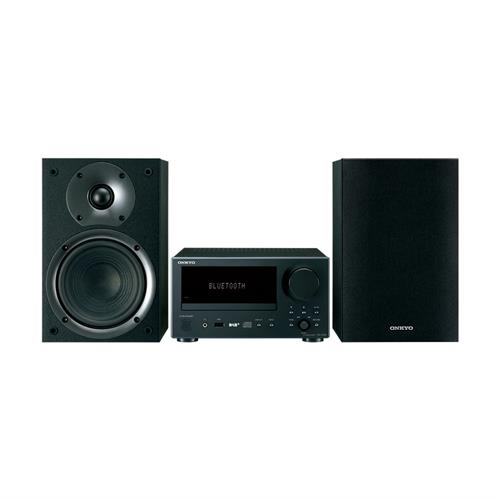 Onkyo Mini System DAB+ BLACK Unit BLACK Speakers
