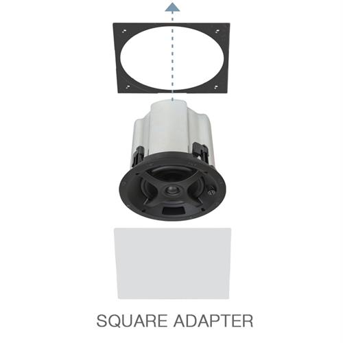 PS-C83 White Square Adapter with Grille 10pk (10x each) Professional Series Sonance