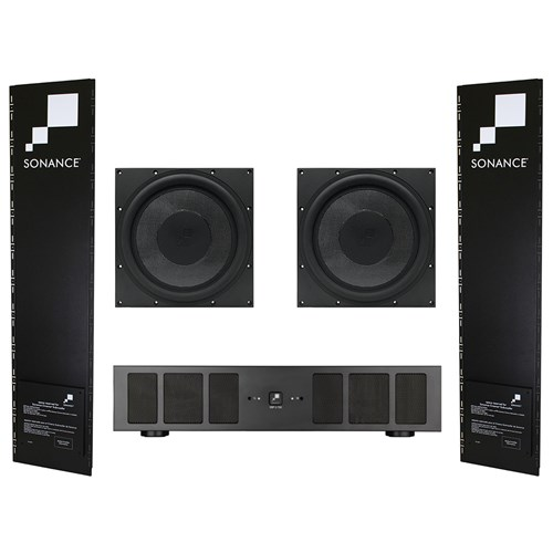 R12SUB PAck - contains 2 x R12 Woofers, 2 x R12 Enclosures 1 x DSP2-750MKII Amp