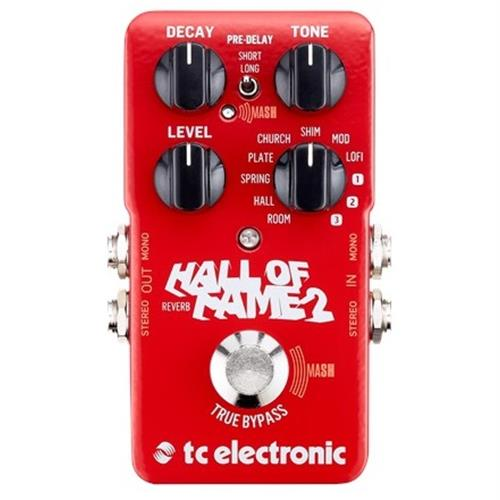 hall of fame 2 reverb pedal with e tc electronic amber tech. Black Bedroom Furniture Sets. Home Design Ideas