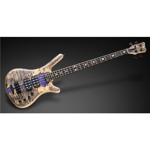 "Warwick MasterBuilt Corvette $$ 2019 Limited Edition 4-String 3/8"" Selected Californian Buckeye"