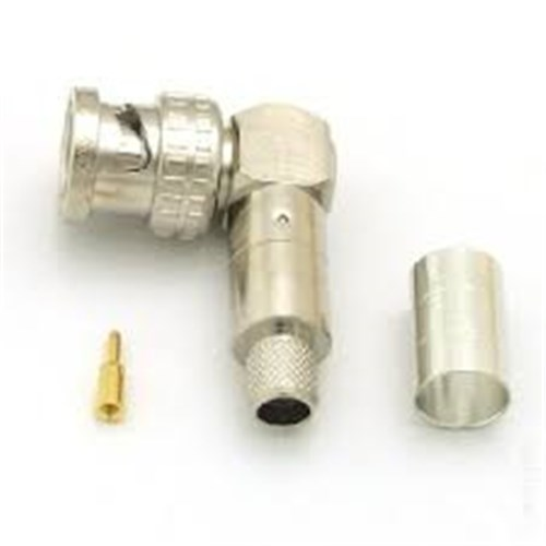50 ohm BNC connector right angle, suits L-5D2W, 5D-2W